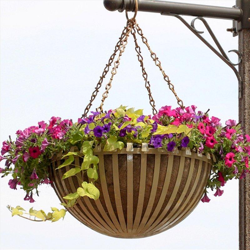 Подвески для цветочных горшков своими руками 4277